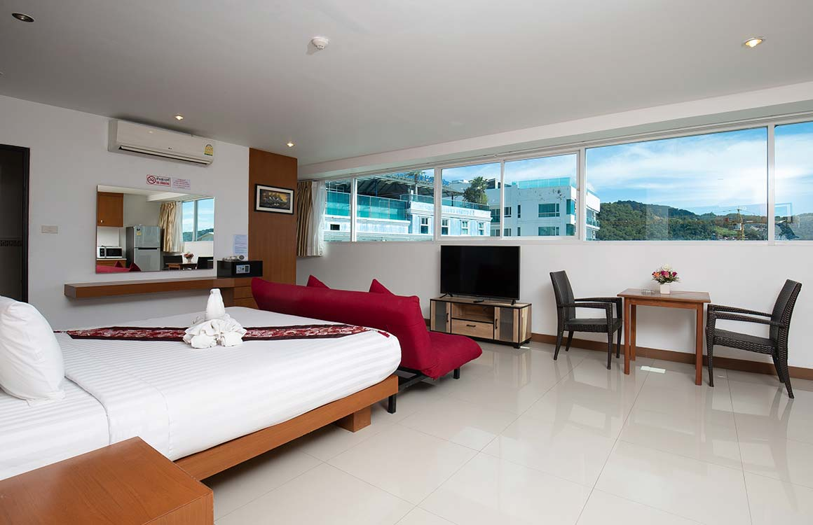 Penthouse room at The Patong Center Hotel